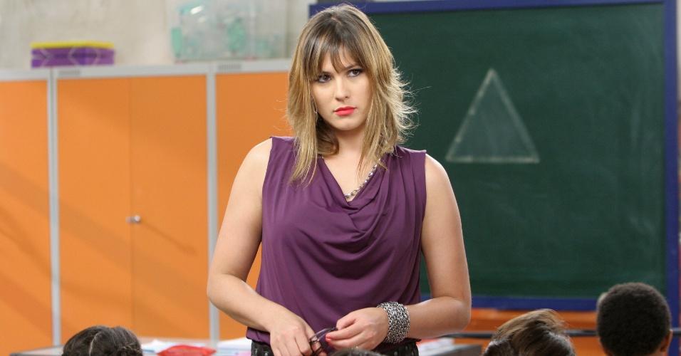 """Em """"Carrossel"""", professora Suzana é desprezada pelos alunos (28/8/12)"""