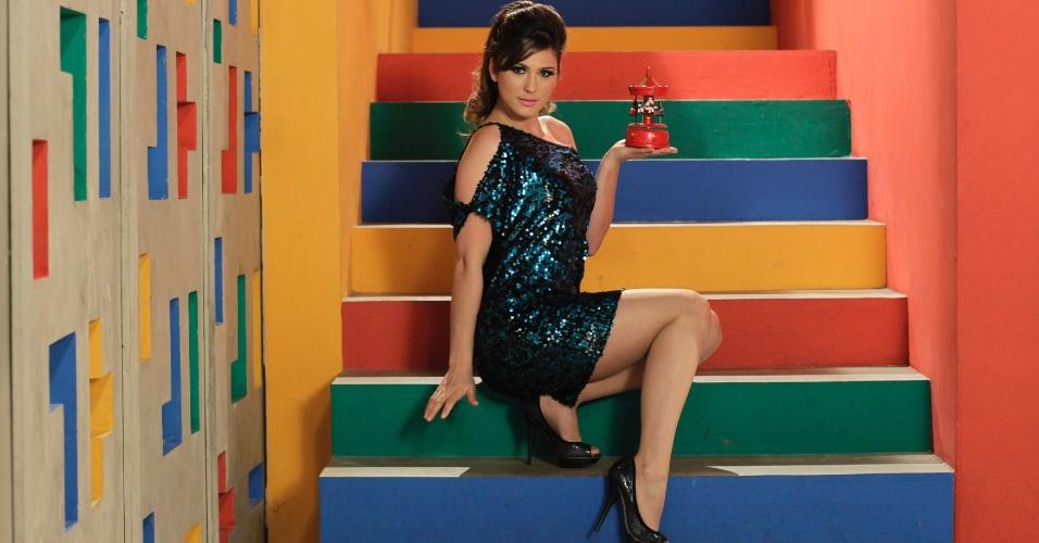 Lívia Andrade entra para
