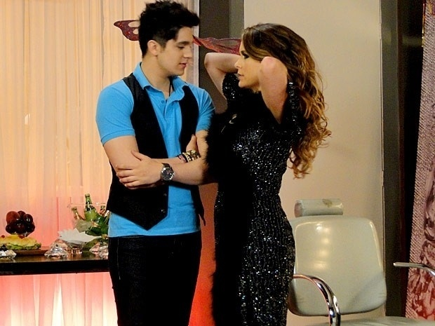 """Em """"Cheias de Charme"""", Chayene diz para Luan que está """"aberta a novos amores"""" (6/9/12)"""