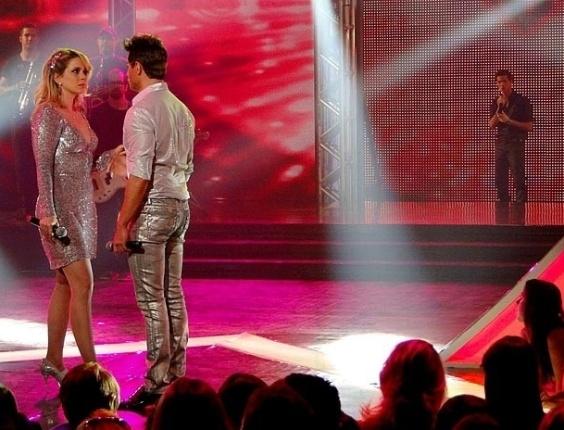 Chayene acaba com a farsa de Fabian e Rosário descobre tudo (18/9/12)