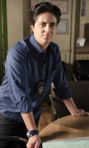 """A atriz Thammy Miranda como a policial Jô em """"Salve Jorge"""", novela de Gloria Perez que estreia em outubro (19/9/12)"""