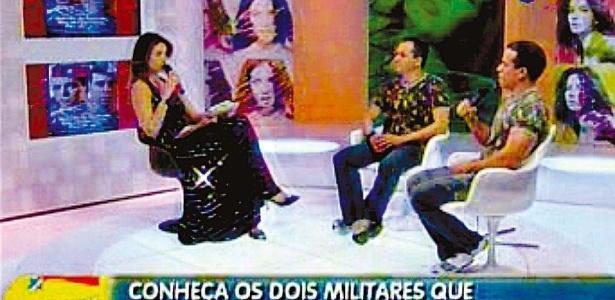 Durante entrevista ao programa