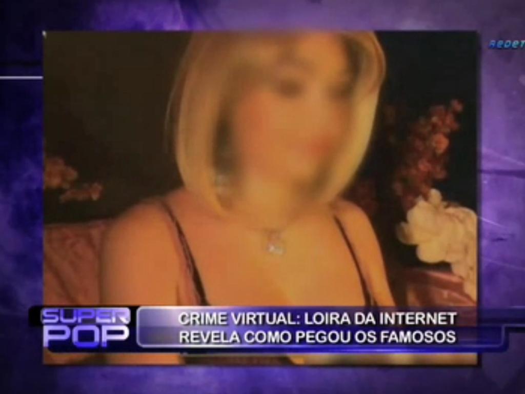 Luciana Gimenez entrevistou a blogueira