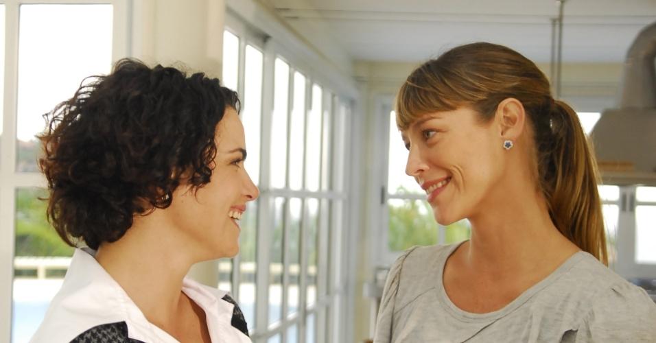 Ana Paula Arósio e Luana Piovani no seriado