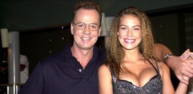 Luana Piovani e Luiz Fernando Guimarães em episódio do seriado