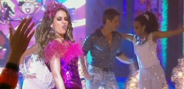 Chayene, Fabian e Empreguetes se apresentam juntos no ltimo captulo de 
