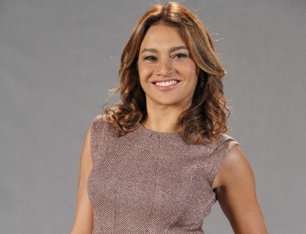 """Dira Paes está no elenco da novela da TV Globo """"Salve Jorge"""", no ..."""