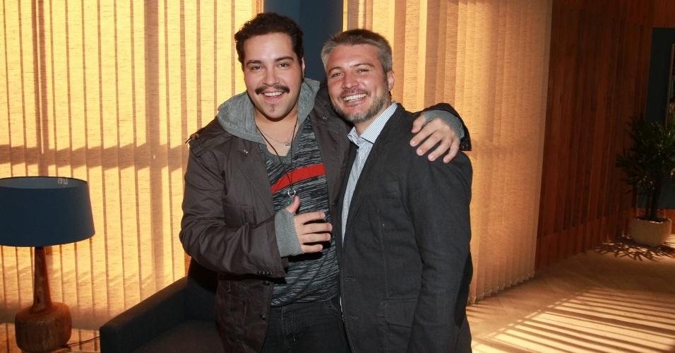 """Tiago Abravanel no elenco da novela da TV Globo """"Salve Jorge"""", no Projac, Rio de Janeiro (2/10/2012)"""