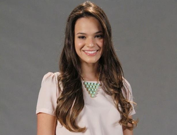 """Bruna Marquezine está no elenco da novela da TV Globo """"Salve Jorge"""", no Projac, Rio de Janeiro (2/10/2012)"""