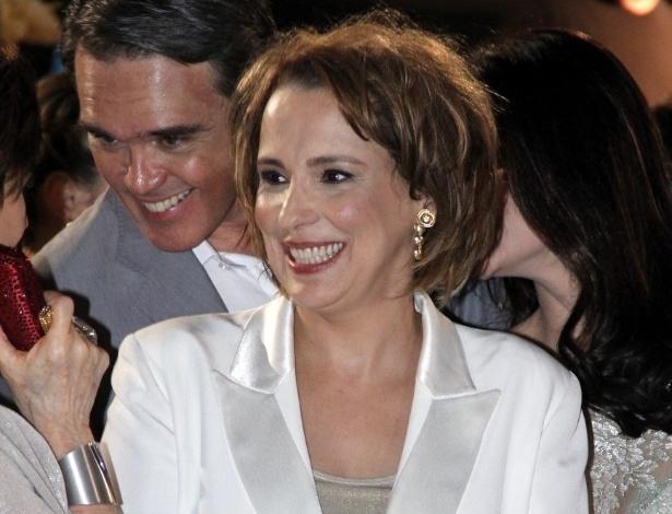 """A atriz Ana Beatriz Nogueira, que viverá novamente uma filha da personagem da atriz Nicette Bruno, em """"Salve Jorge"""" (9/10/12)"""