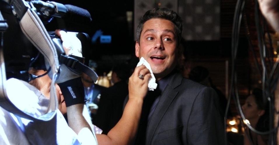 """Alexandre Nero durante gravações de """"Salve Jorge"""" no Rio de Janeiro (9/10/12)"""