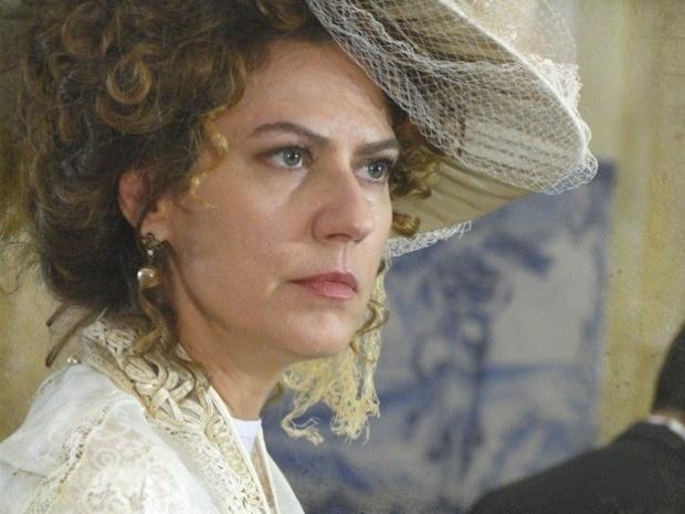 """Em """"Lado a Lado"""", Constância planeja matar o bebê de Isabel (17/10/12)"""