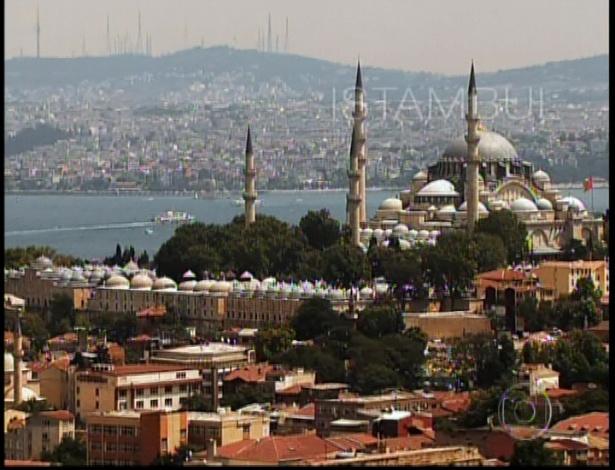 Em Istambul...
