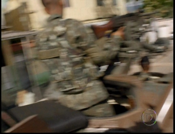 Imagens da invasão