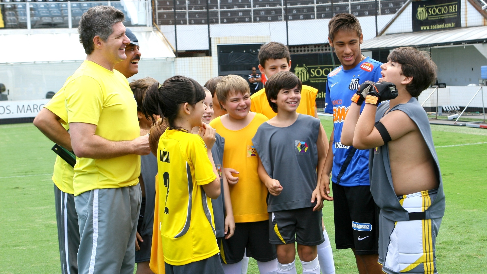 Neymar Jr. grava participao especial em 