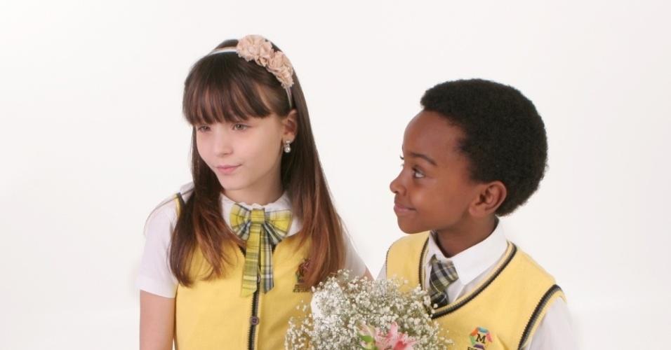 """Em """"Carrossel"""", Cirilo compra flores para Maria Joaquina e é humilhado (12/11/12)"""