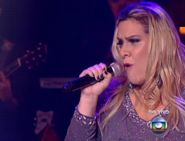 """Carol Marques canta ?Proposta?, de Roberto Carlos e Erasmo Carlos, na quarta semifinal do """"The Voice Brasil"""" (25/11/12)"""