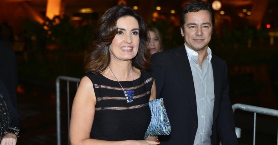 A apresentadora Fátima Bernardes participa do Prêmio Extra de Televisão, que acontece nesta terça (27), no Rio de Janeiro (27/11/12)