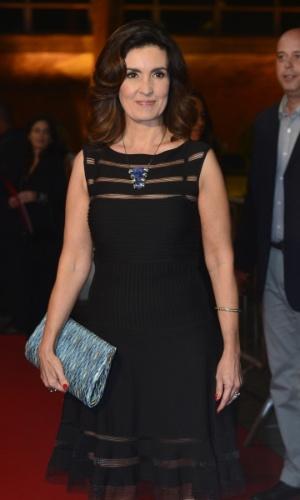 A apresentadora Fátima Bernardes participa do Prêmio Extra de Televisão, que acontece nesta terça (27), no Rio de Janeiro 27.nov.2012