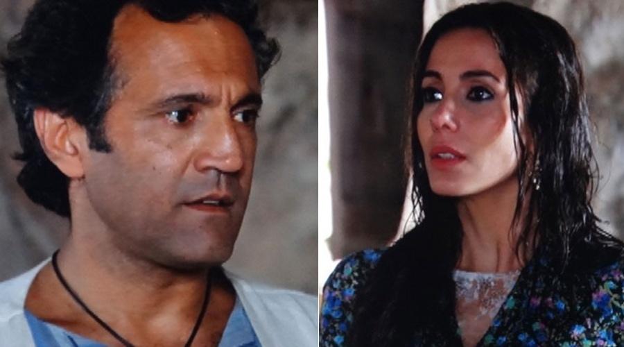 """Em """"Salve Jorge"""", Ayla vai atrás de Zyah e o guia fica encantado (27/11/12)"""