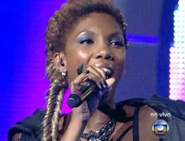 """Késia Estácio canta """"Me Deixa"""", do Rappa, na sexta semifinal do """"The Voice Brasil"""" (9/12/12)"""