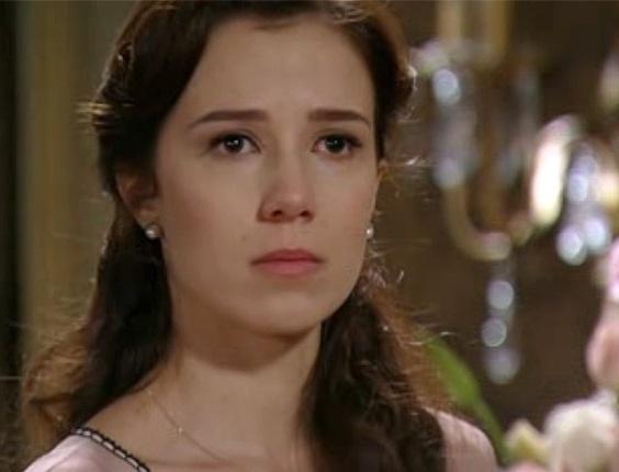 """13.dez.2012 - Em """"Lado a Lado"""", Constância humilha Laura"""