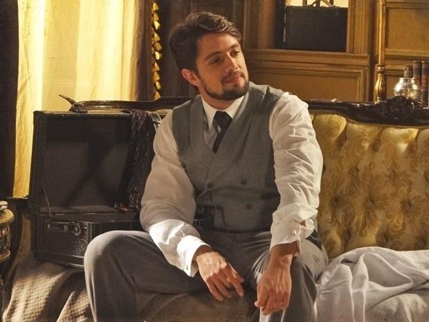 """Em """"Lado a Lado"""", Albertinho se arrepende de não ter enfrentado a mãe e casado com Isabel"""