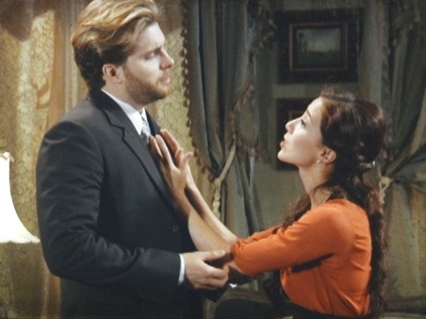 """Em """"Lado a Lado"""", Edgar pede um tempo a Laura"""