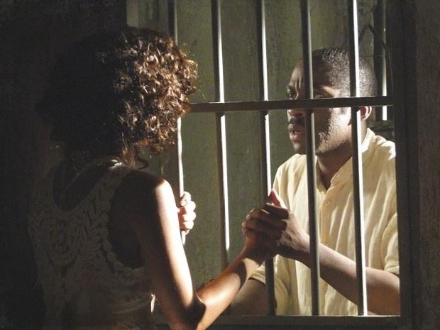 """Em """"Lado a Lado"""", Zé Maria promete tirar Isabel da prisão"""