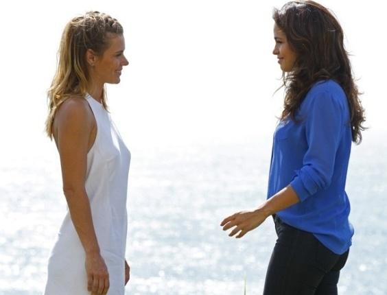 """Em """"Salve Jorge"""", Morena tem visão de Jéssica e promete fazer justiça"""