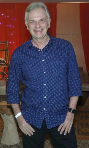 """30.jan.2013 - Henri Pagnoncelli no evento de lançamento e exibição do 1º capítulo da minissérie da TV Record """"José do Egito"""", na Barra da Tijuca, Rio de Janeiro"""