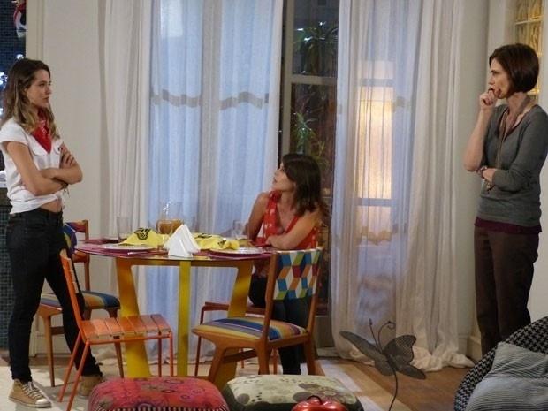 """Em """"Malhação"""", Fatinha descobre que a mãe de Bruno não gosta dela e chora"""