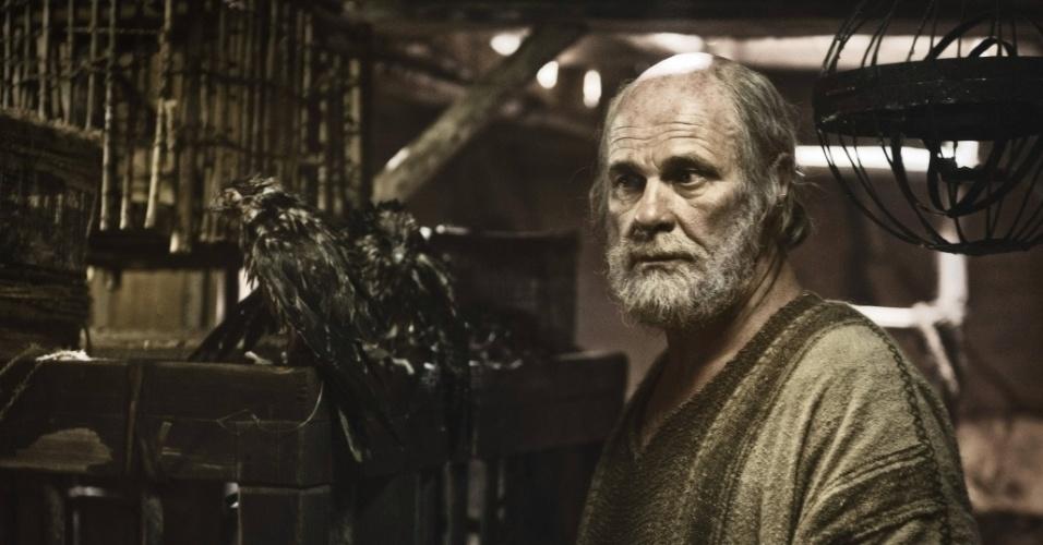 """5.mar.2013 - Noé entra em sua arca em cena da série """"A Bíblia"""", exibida nos EUA pelo History Channel"""