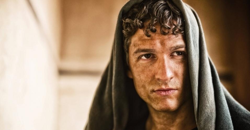 """5.mar.2013 - O apóstolo Lucas em cena da série """"A Bíblia"""", exibida nos EUA pelo History Channel"""