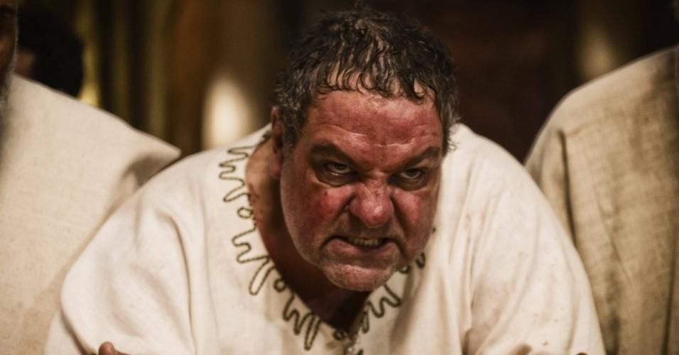 """5.mar.2013 - O rei Herodesl em cena da série """"A Bíblia"""", exibida nos EUA pelo History Channel"""