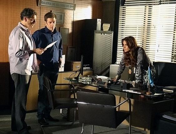 """6.mr.2013 - Em """"Salve Jorge"""", Helô confirma que Russo é Alejandro e foca a investigação em Lívia"""