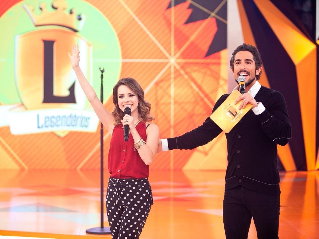 8.mar.2013 - Sandy gravou participação no programa