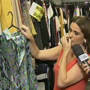 """Giovanna Antonelli ajuda a compor o figurino de Helô em """"Salve Jorge"""""""