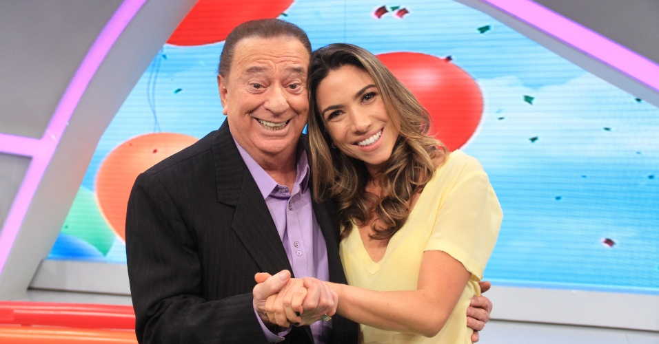Mar.2013 - Patrícia Abravanel é a convidada do programa Raul Gil, neste sábado, pelo SBT