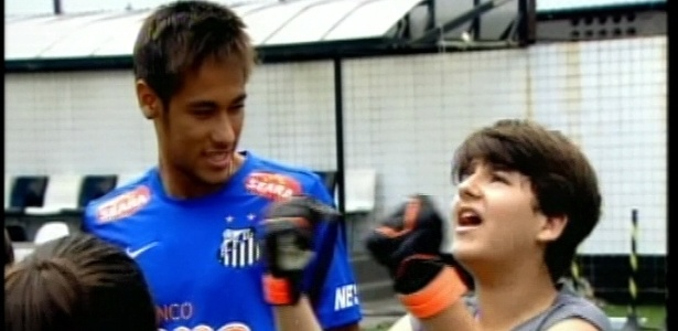 Neymar faz participao em 