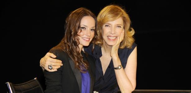 """Marília Gabriela entrevista Rosanne Mulholland no """"De Frente Com Gabi"""""""