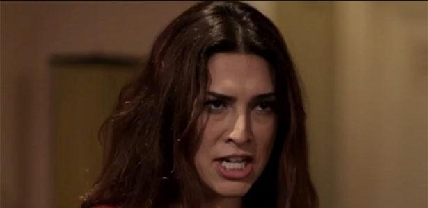 1.abr.2013 -Fernanda Paes Leme participa da série de humor