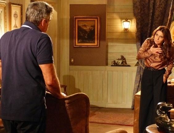 """Em """"Salve Jorge"""", Nunes conta tudo o que sabe sobre Wanda a Helô"""