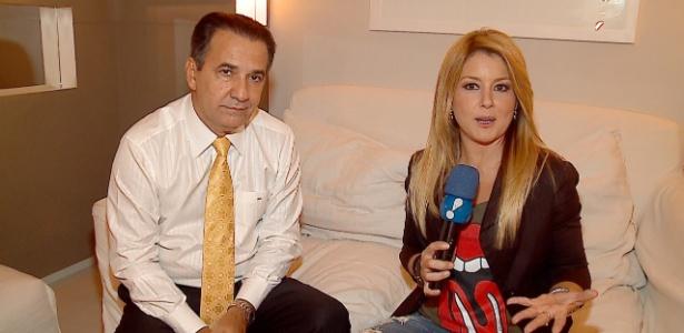 """Pastor Silas Malafaia durante entrevista para o programa """"TV Fama"""""""