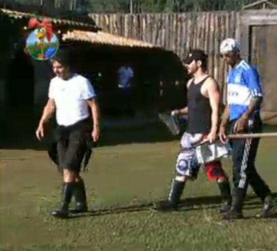 Peões comentam sobre a falta de educação de alguns participantes do reality (28/7/11)