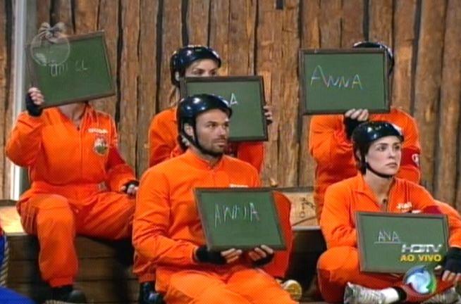 Equipe Ovelha escolheu Anna Markun para a prova (31/7/2011)
