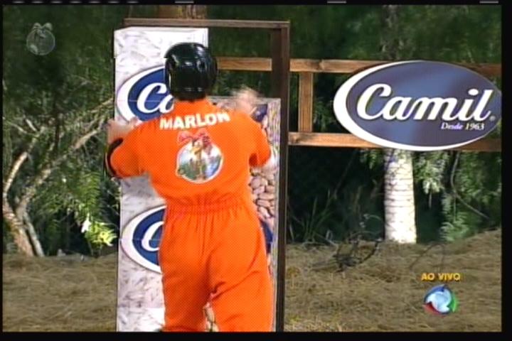 Marlon completou a prova em primeiro (14/8/2011)