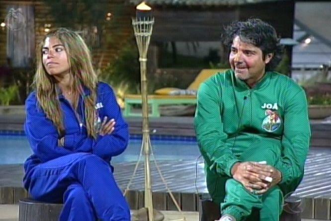 Raquel Pacheco e João Kléber foram para a roça pela prova da semana(14/8/2011)