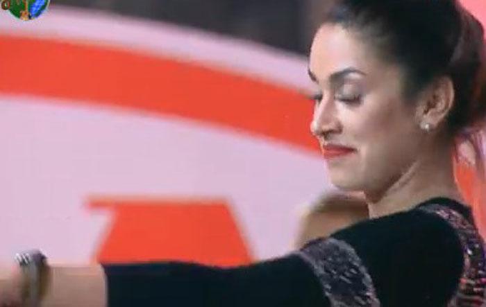 Dani Bolina foi uma das que mais ficou na festa desta sexta (12/08/11)