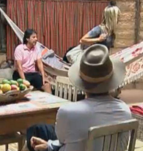 Roceiros voltaram a elogiar a casa temporária (16/8/2011)